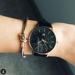 MVMT black & rose gold 'Santa Monica' watch